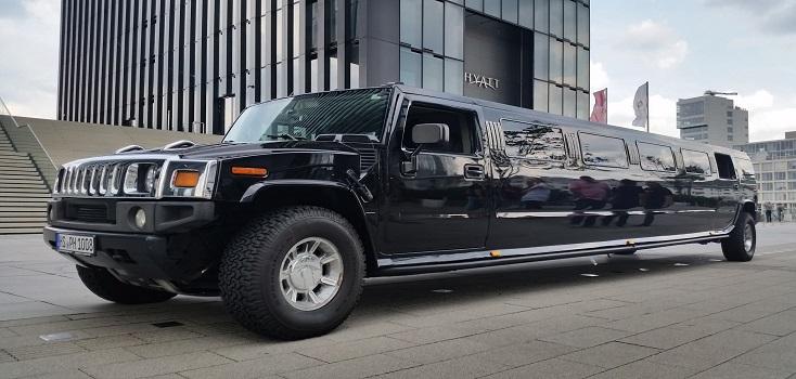 Hummer H2 Limousine schwarz
