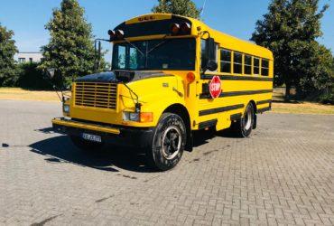 Gelber Schoolbus Düsseldorf